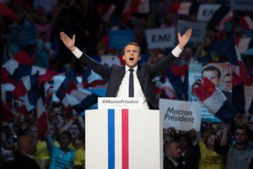 Emmanuel Macron Präsident Frankreich TheMan