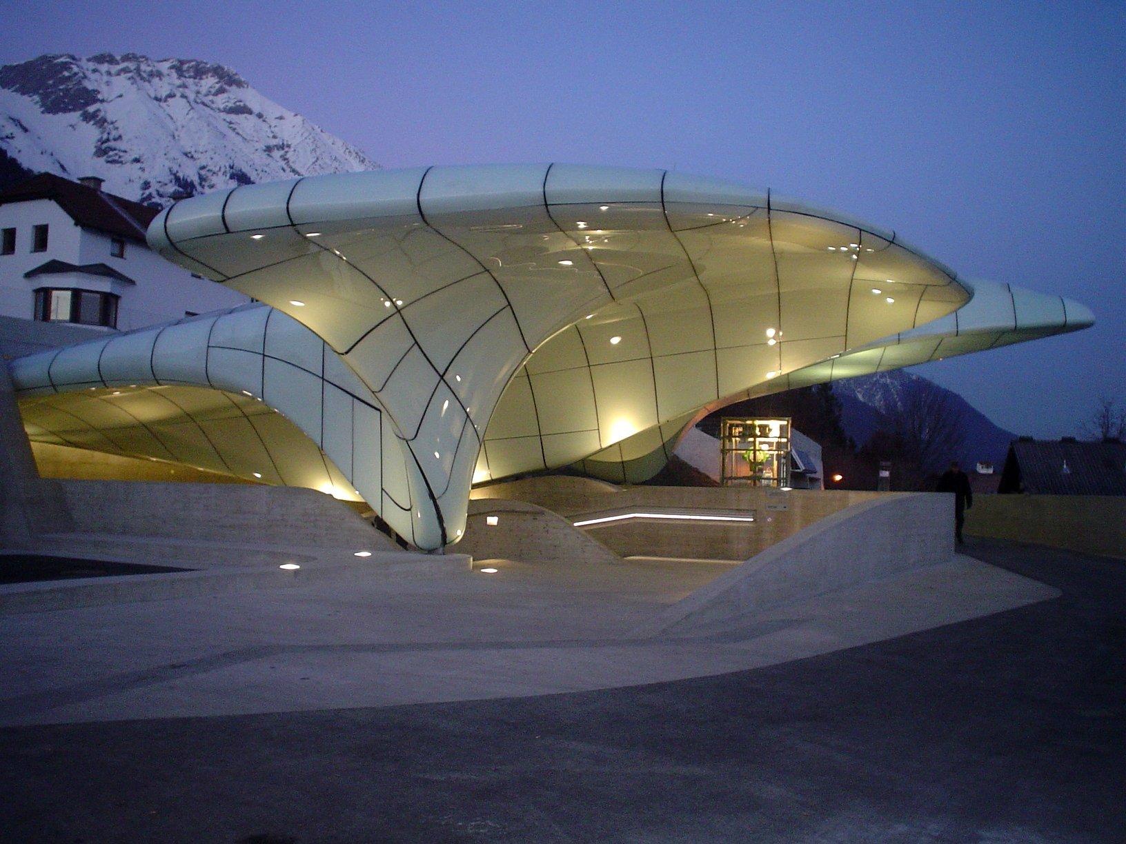 Hungerburgbahn Bergstation Zaha Hadid