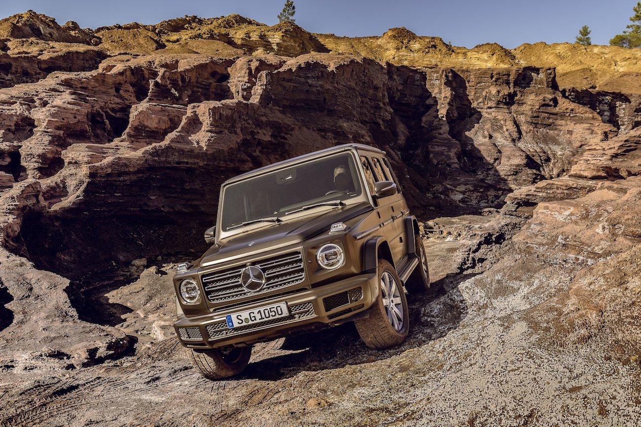Die neue Mercedes Benz G-Klasse