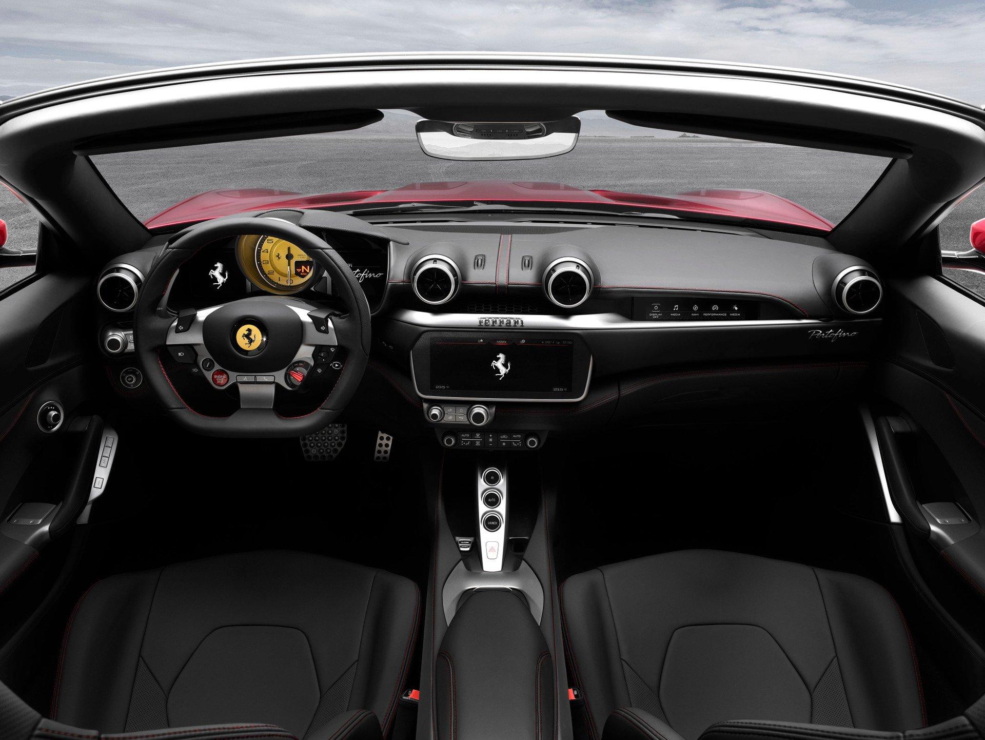 Ferrari Portofino Interieur